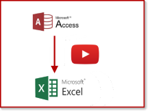 MS Access to Excel